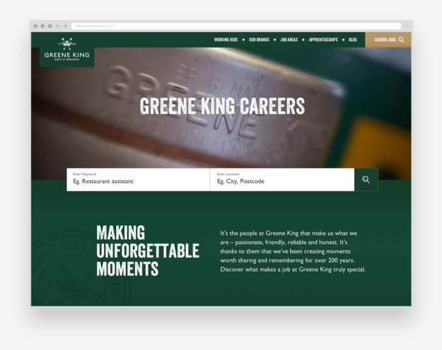 Greene King Careers Site